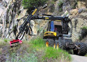 Ponsse Ergo Harvester from Lost River Fire Management Services
